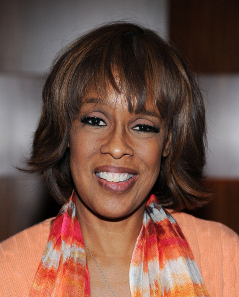Gayle King Bob [mandela: long walk to freedom,yucaipa films,hair,face,hairstyle,eyebrow,lip,chin,bangs,forehead,cheek,smile,gayle king,deleon tequila,new york,stone rose lounge,the weinstein company,videovision entertainment,premiere,party]