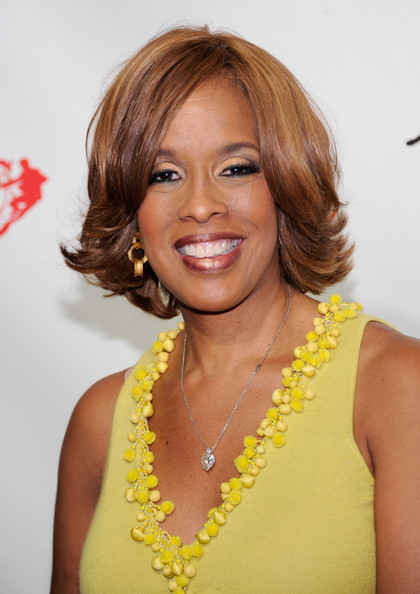 Gayle King Bob [the beatles love by cirque du soleil celebrates its 5th anniversary,the beatles love by cirque du soleil,hair,hairstyle,yellow,eyebrow,chin,blond,layered hair,long hair,lip,brown hair,gayle king,mirage hotel casino,las vegas,nevada,the mirage in las vegas,o the oprah magazine,celebration,show]