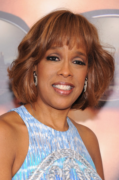 Gayle King Bob [tyler perrys madeas witness protection,hair,face,hairstyle,eyebrow,blond,chin,beauty,layered hair,brown hair,lip,inside arrivals,gayle king,new york,amc lincoln square theater,new york premiere]