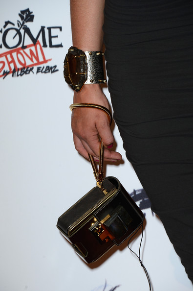 Gemma Arterton Hard Case Clutch