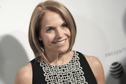 Katie Couric framed her face with a sleek bob for the 2017 Tribeca Film Festival premiere of 'Genius.'
