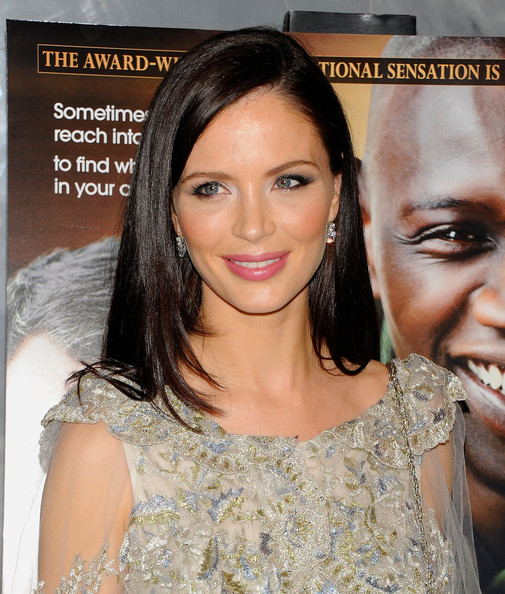Georgina Chapman Long Straight Cut