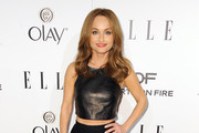 Giada De Laurentiis Long Skirt
