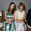 Anna Wintour and Bee Shaffer at Giambattista Valli Couture