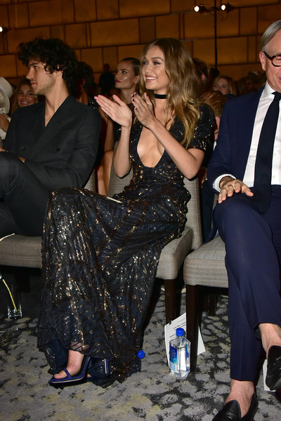 Gigi Hadid Beaded Dress