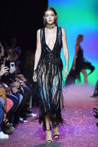 Gigi Hadid Fringed Dress
