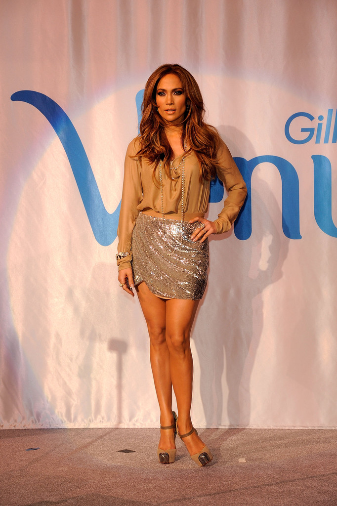 Wear Statement Minis With Blousy Tops Like Jlo How To