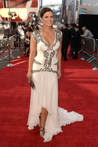 Gina Carano Fishtail Dress