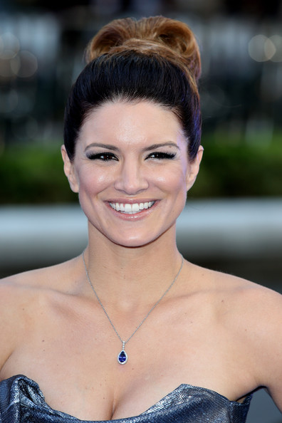 Gina Carano False Eyelashes