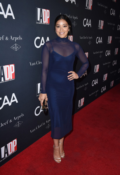 Gina Rodriguez Evening Sandals