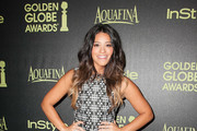 Gina Rodriguez Print Dress