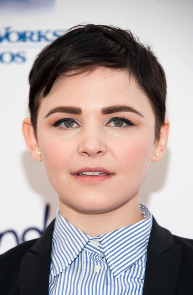 Ginnifer Goodwin Pixie [face,hair,eyebrow,forehead,chin,hairstyle,lip,white-collar worker,head,skin,ginnifer goodwin,bookies,milk,california,los angeles,skirball cultural center,story time celebration,milk bookies story time celebration]