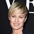 Robin Wright's Short Cut With Bangs