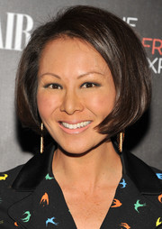 Alina Cho framed her face with a short bob for the New York premiere of 'The Girlfriend Experience.'