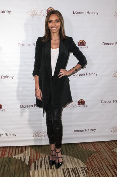 Giuliana Rancic Leather Pants
