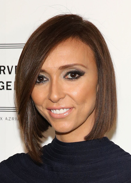 Giuliana Rancic Graduated Bob