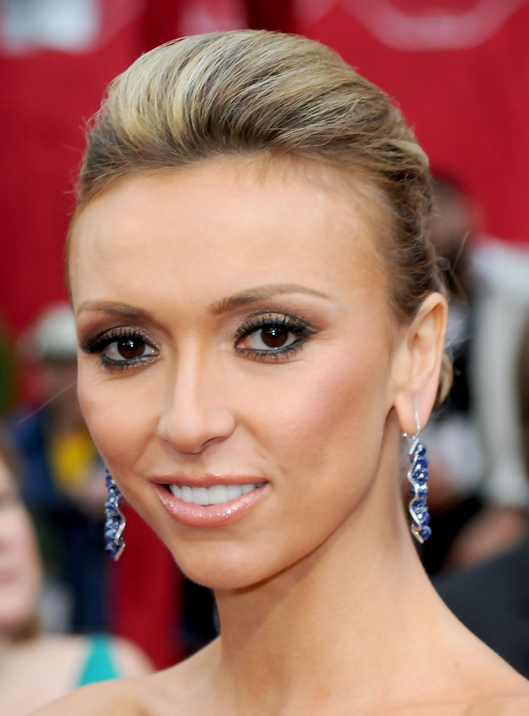 Giuliana Rancic Bobby Pinned Updo Giuliana Rancic Hair
