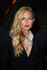 Rachel Zoe dressed up her LBD with a ton of pearls.