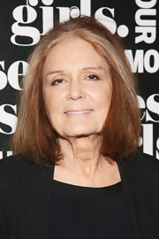 Gloria Steinem kept it classic with a bob during Glamour's presentation of 'These Girls.'