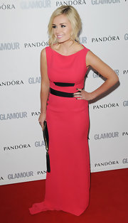 Katherine went for a bright neon hue at the Glamour Women of the Year Awards in a hot pink evening gown.