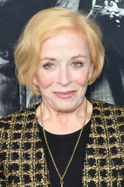 Holland Taylor sported a slightly wavy bob at the New York premiere of 'Glass.'