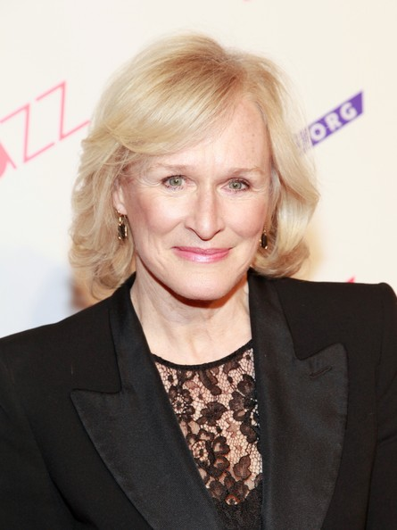 Glenn Close Short Wavy Cut [paul simon songbook to benefit jazz at lincoln center gala concert,hair,face,blond,hairstyle,eyebrow,chin,lip,forehead,long hair,layered hair,glenn close,paul simon songbook,dinner,jazz,lincoln center,new york city,frederick p. rose hall,gala concert]