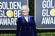 Glenn Close Tuxedo Dress