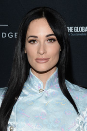 Kacey Musgraves stuck to her signature long straight style when she attended the Global Citizen Festival.