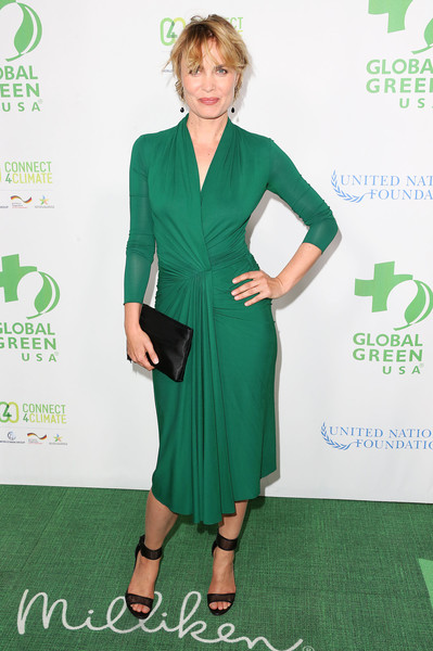 More Pics of Radha Mitchell Strappy Sandals (1 of 3) - Radha Mitchell Lookbook - StyleBistro [green,clothing,dress,carpet,red carpet,footwear,fashion,cocktail dress,flooring,premiere,arrivals,radha mitchell,beverly hills,california,mr. c beverly hills hotel,global green usa,13th annual pre-oscar party]