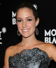 Kristin Cavallari showed her Sutra love. She wore Sutra earrings to the Montblanc event.