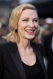 Cate Blanchett went retro with this flip at the Zurich Film Festival premiere of 'Where'd You Go, Bernadette.'