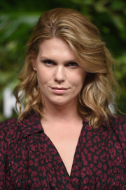 Alexandra Richards rocked high-volume curls at the Golden Heart Awards.