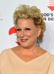 Bette Midler wore her hair short with tousled curls when she attended the Golden Heart Awards.