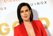 Rumer Willis attended the Gold Meets Golden event wearing her hair in a sleek bob.
