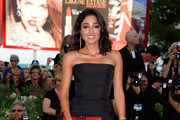 Golshifteh Farahani Strapless Dress