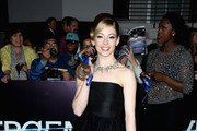 Gracie Gold Strapless Dress