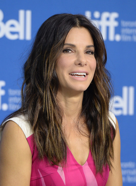 More Pics of Sandra Bullock Bangle Bracelet (1 of 57) - Sandra Bullock Lookbook - StyleBistro
