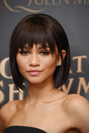Zendaya Coleman was edgy and trendy with her choppy bob at the world premiere of 'The Greatest Showman.'