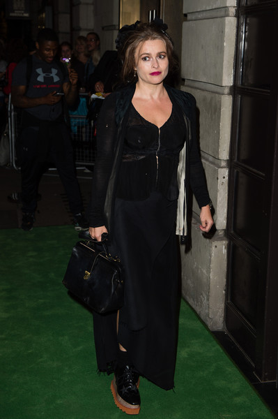 Helena Bonham Carter at A Green Carpet Challenge BAFTA Night
