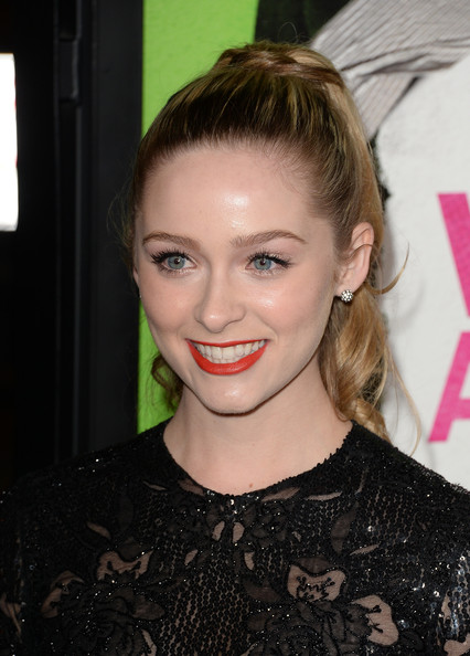 Greer Grammer Hair
