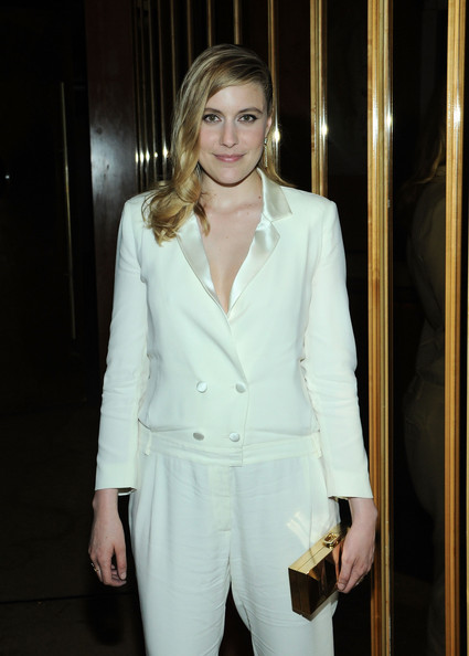 Greta Gerwig Box Clutch
