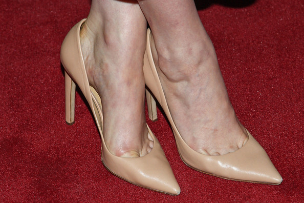 Greta Gerwig Evening Sandals