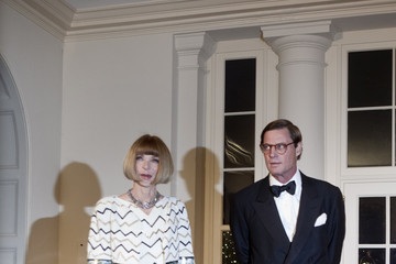 Anna Wintour Wears Chanel to Meet Chinese Leader Hu Jintao