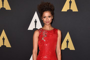 Gugu Mbatha-Raw Beaded Clutch