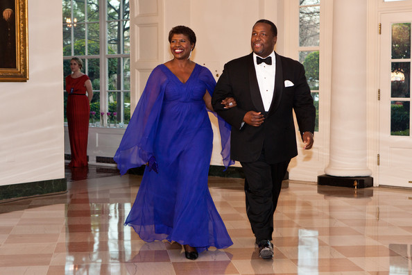 Gwen Ifill Evening Dress