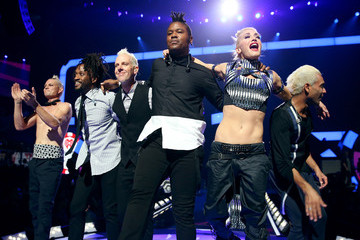 Gwen Stefani Adrian Young 2012 iHeartRadio Music Festival - Day 1 - Show