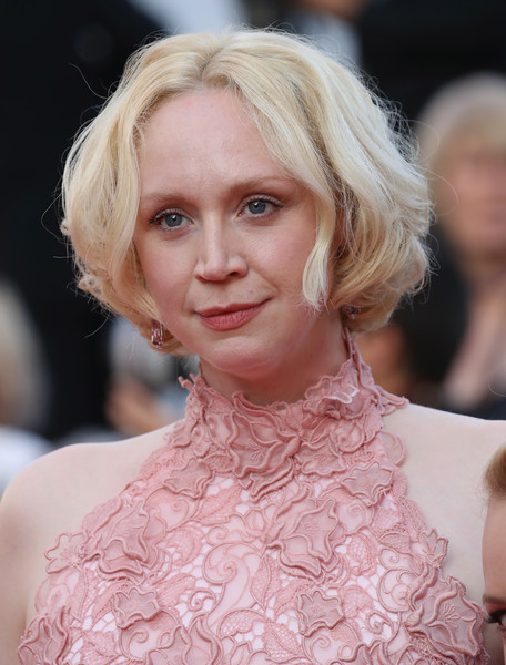 Gwendoline Christie Bob [the beguiled,hair,face,blond,hairstyle,eyebrow,lip,fashion,chin,beauty,skin,red carpet arrivals,gwendoline christie,screening,cannes,france,cannes film festival,palais des festivals]