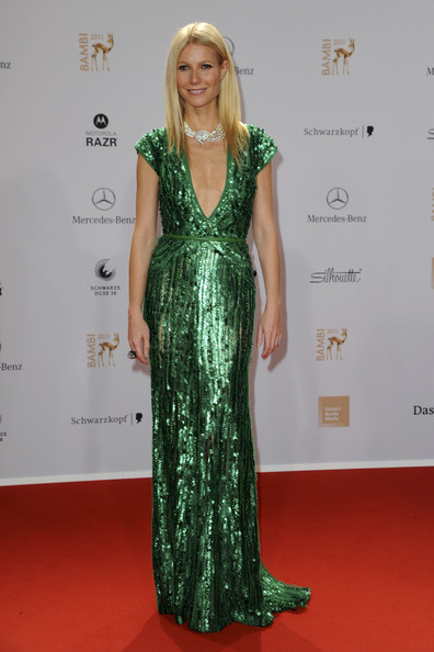 Gwyneth Paltrow Beaded Dress