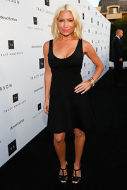 Tracy Anderson knew that all she needed to show off her killer body was a basic LBD.