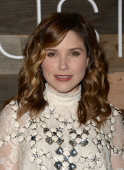 Sophia Bush looked charming with her corkscrew waves during the H&M Conscious Collection dinner.